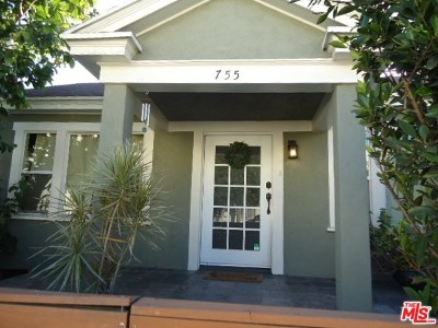Los Angeles Multi Family Home For Sale: 751 N Gower Street