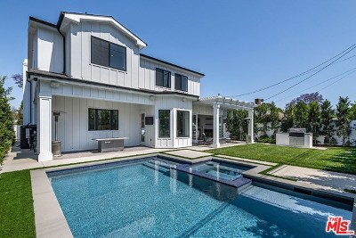 Studio City Single Family Home For Sale: 4443 Babcock Avenue