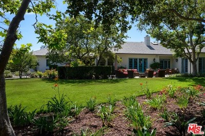 San Luis Obispo County, Santa Barbara County Single Family Home For Sale: 540 McLean Lane