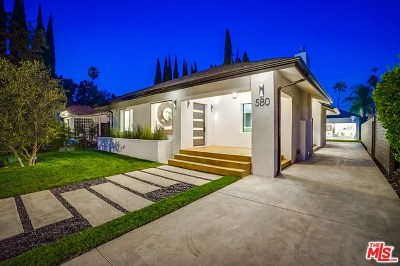 Los Angeles Single Family Home For Sale: 580 N Lucerne