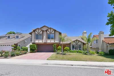 Agoura Hills Single Family Home For Sale: 6326 Daylight Drive