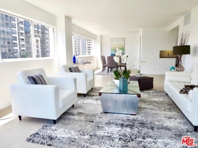 Los Angeles Condo/Townhouse For Sale: 10701 Wilshire Boulevard #603