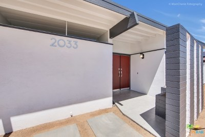 Palm Springs Single Family Home For Sale: 2033 N San Antonio Road