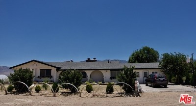 Lucerne Valley Single Family Home For Sale: 10707 Post Office Road