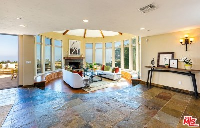 Topanga Single Family Home For Sale: 21641 Saddle Peak Road