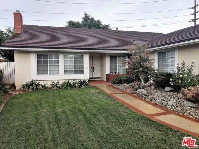 Brea Single Family Home For Sale: 1425 Fawnridge Drive