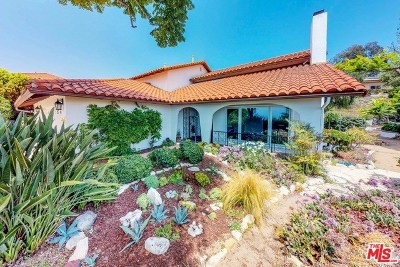 Rancho Palos Verdes Single Family Home For Sale: 6632 Locklenna Lane