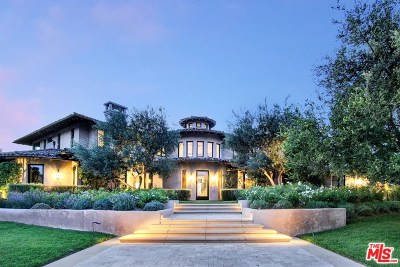 Brentwood, Calabasas, West Hills, Woodland Hills Single Family Home For Sale: 25201 Prado Del Grandioso