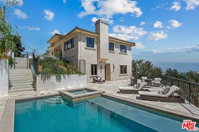 Los Angeles Single Family Home For Sale: 3548 Multiview Drive