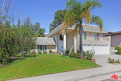Tarzana Single Family Home For Sale: 4001 Coldstream Terrace