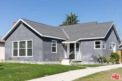Los Angeles Single Family Home For Sale: 1758 S Fairfax Avenue