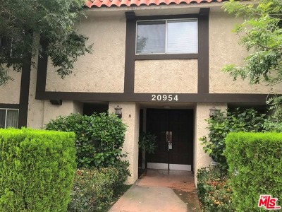 Canoga Park Condo/Townhouse For Sale: 20954 Parthenia Street #10