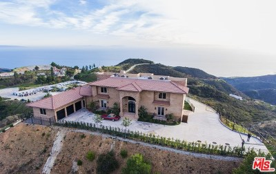 Malibu Single Family Home For Sale: 23244 W Paloma Blanca Drive