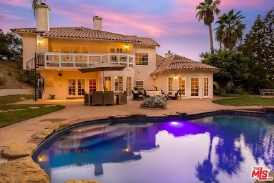 Topanga Single Family Home For Sale: 21126 Bellini Drive