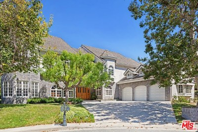 Brentwood, Calabasas, West Hills, Woodland Hills Single Family Home For Sale: 4440 Vanceboro Court