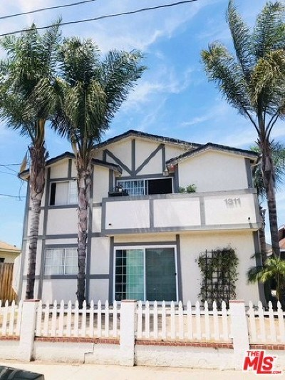 San Pedro Multi Family Home For Sale: 1311 S Palos Verdes Street