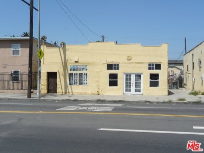 Los Angeles Multi Family Home For Sale: 7711 S Broadway