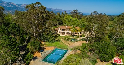 San Luis Obispo County, Santa Barbara County Single Family Home For Sale: 4501 Via Vistosa