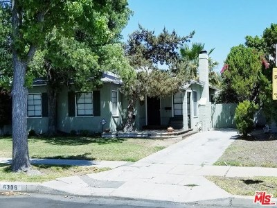 North Hollywood Single Family Home For Sale: 6306 Morella Avenue
