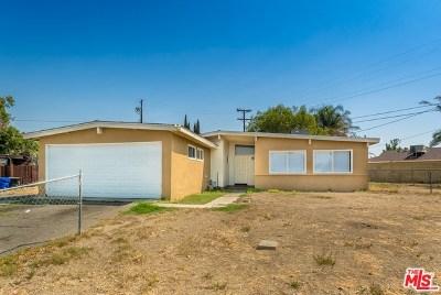 Fontana Single Family Home For Sale: 9615 Date Street