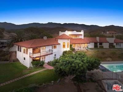 Malibu Single Family Home For Sale: 33261 Decker School Road