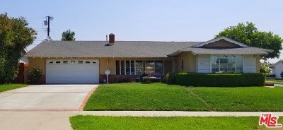 Placentia Single Family Home For Sale: 5122 Roxborough Drive
