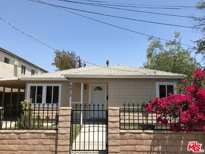 Sun Valley Single Family Home For Sale: 8812 Laurel Canyon