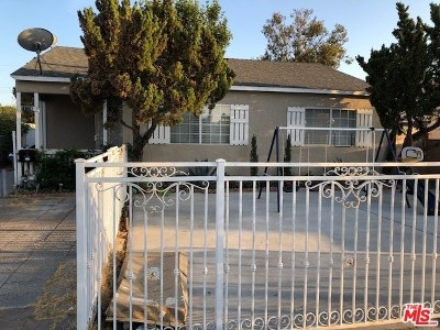 Sun Valley Single Family Home For Sale: 11226 Saticoy Street