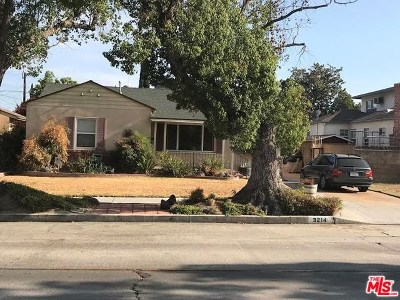 Burbank Single Family Home For Sale: 3214 W Wyoming Avenue