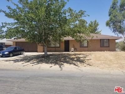 Palmdale Single Family Home For Sale: 16567 E Stagecoach Avenue