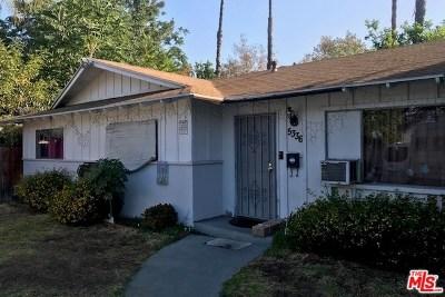 San Gabriel Single Family Home For Sale: 5336 Acacia Street