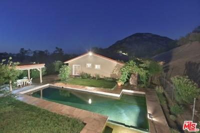 Agoura Hills Single Family Home For Sale: 31866 Hidden Highland Road