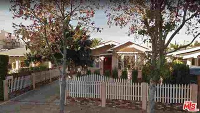 Los Angeles CA Single Family Home For Sale: $1,449,500