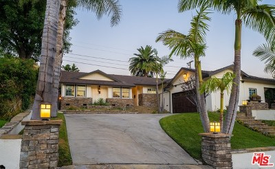 Burbank Single Family Home For Sale: 3036 N Keystone Street