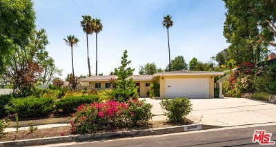 Woodland Hills Single Family Home For Sale: 20332 Clark Street
