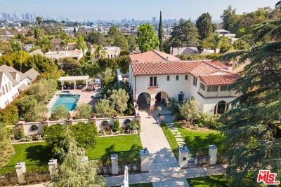 Los Angeles Single Family Home For Sale: 5036 Los Feliz Boulevard