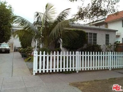 Los Angeles Multi Family Home For Sale: 12029 Washington Place
