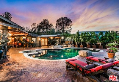 Los Angeles Single Family Home For Sale: 3338 Bonnie Hill Drive