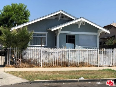 Los Angeles Single Family Home For Sale: 2029 W 41st Place