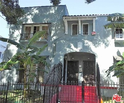 Los Angeles Multi Family Home For Sale: 253 Columbia Avenue