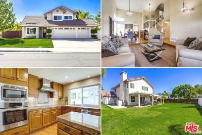 Murrieta Single Family Home For Sale: 25471 Lacebark Drive