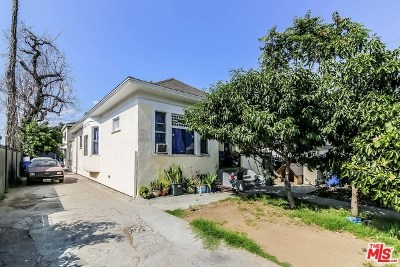 Los Angeles Multi Family Home For Sale: 1510 E 21st Street