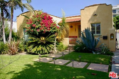 Toluca Lake Single Family Home Active Under Contract: 11161 Blix Street