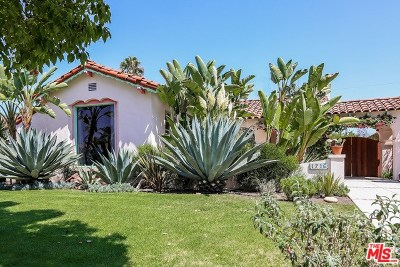 Los Angeles Single Family Home For Sale: 1716 S Corning Street