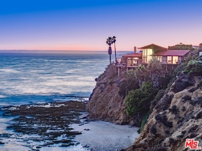 Laguna Beach CA Single Family Home For Sale: $10,495,000