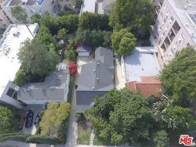 West Hollywood Single Family Home For Sale: 1235 N Olive Drive