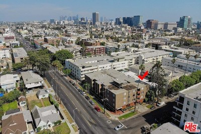 Los Angeles Multi Family Home For Sale: 310 S Gramercy Place