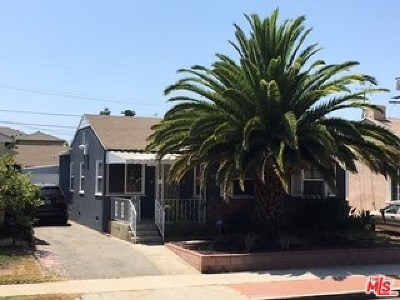 Culver City Single Family Home For Sale: 3823 Midway Avenue