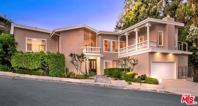 Los Angeles Single Family Home Active Under Contract: 2600 Zorada Drive