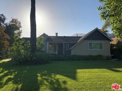 Glendale Single Family Home For Sale: 1661 Capistrano Avenue